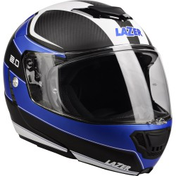 "LAZER Monaco Evo ""2.0"" Pure Carbon (Black Carbon - Blue - White - Matt)"