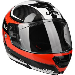 "LAZER Monaco Evo ""2.0"" Pure Carbon (Black Carbon - Red - White)"