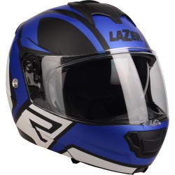 LAZER Lugano Z-Generation (Black - Blue Metal - White - Mat)